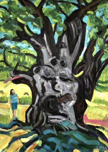 The woman and the tree/ Anime Mundi Vll
